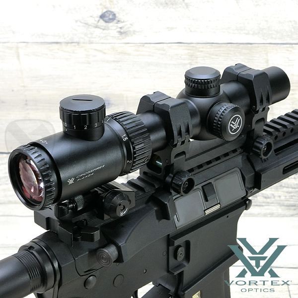 VORTEX Crossfire II AR1-4×24 V-Brite illuminated
