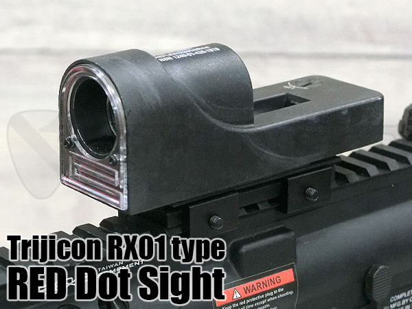 Trijicon RX01������ RED Dot �ե����С� ��ե�å��������� BK