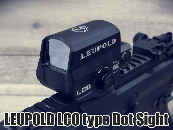 LEUPOLD LCOタイプ ドットサイト