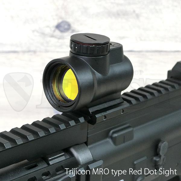 Trijicon MROタイプ ドットサイト Type2マウントセット BK