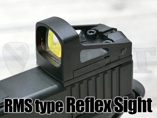 Shield RMSタイプ オープンドットサイト BK(20mmレイル / GLOCKマウント付き)