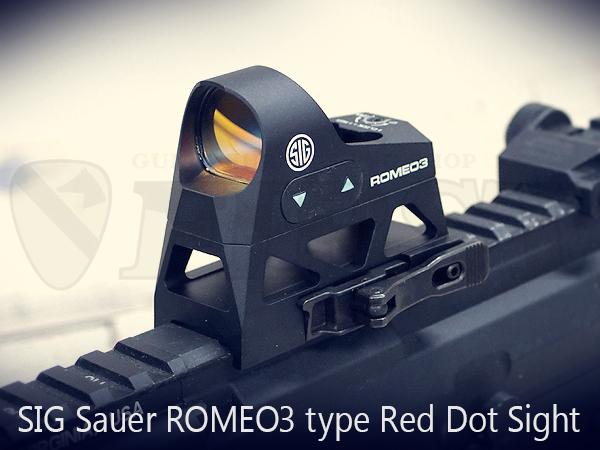 ROMEO3(ロメオ3) タイプ コンパクトレッドドットサイト