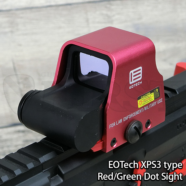 EOTech XPS3ホロサイトタイプ ダットサイト メタリックレッド