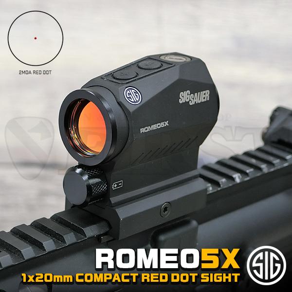 SIG SAUER ROMEO5X 1×20mm コンパクトレッドドットサイト
