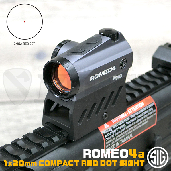 SIG SAUER ROMEO4A 1×20mm コンパクトレッドドットサイト