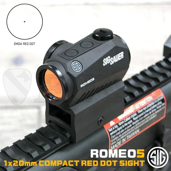 SOR52001 ROMEO5 1×20mm コンパクトレッドドットサイト