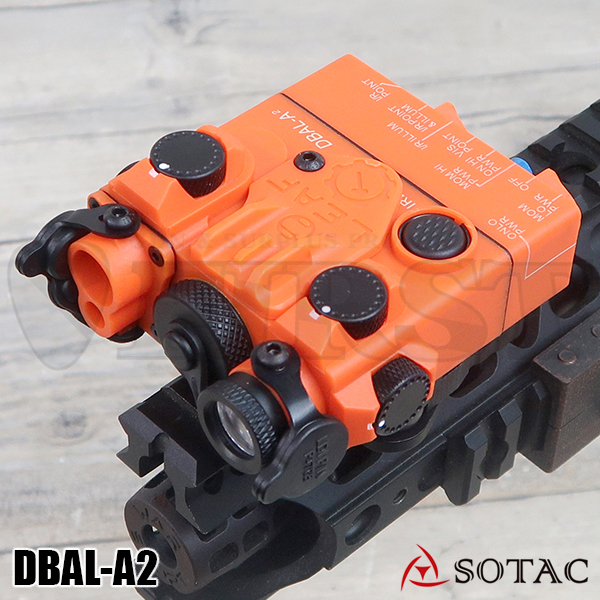 SOTAC GEAR製 ナイロン製 DBAL-A2(AN/PEQ-15Aタイプ) LEDライトOR