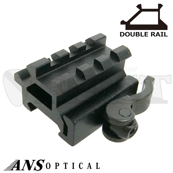 Heavy Duty end caps 2-HD Quick mount Triple Tree rod holders for track system