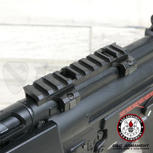 G-03-070 MP5/G3用 ロープロファイルマウント Long