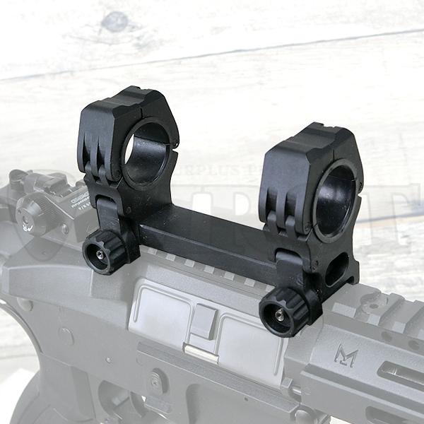 【特価】ARC M10 QD-Lタイプ 水平器付き ワンピーススコープマウント BK