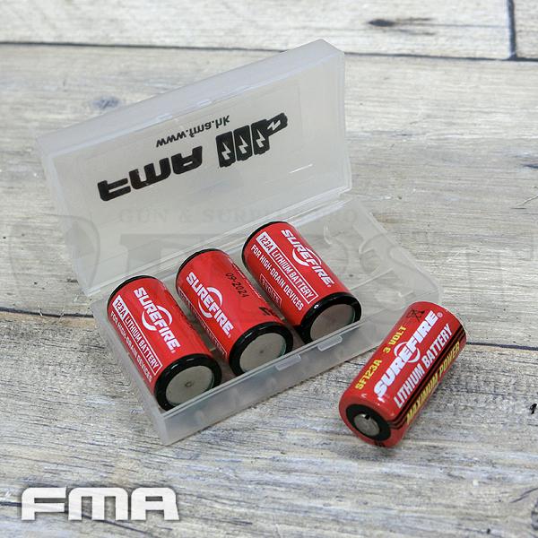 fma cr123 バッテリーケース 光学機器 スコープ マウント 絶賛sale中