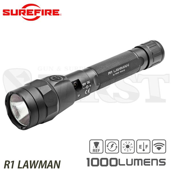 R1-B-BK R1 LAWMAN リチャージブル LED MAX/1000-LOW/15 LUMEN