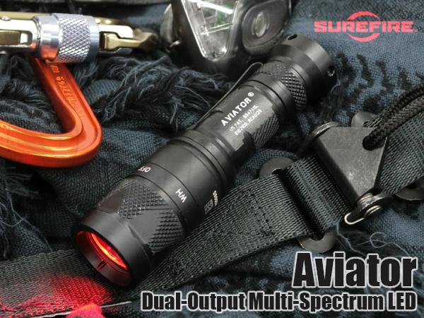 AVIATOR-RD デュアルアウトプット マルチスペクトラム LED WHITE/RED