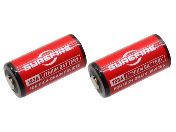 SUREFIRE リチュウム電池 SF123A 2本セット