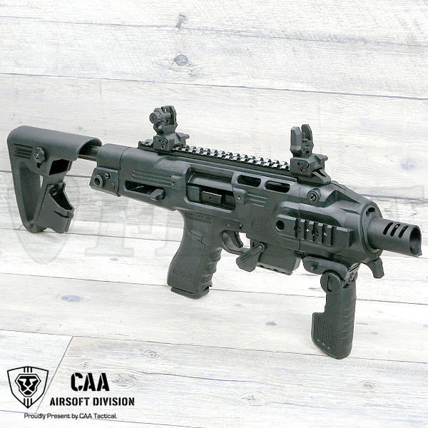 CAA RONI-G1 グロック カービンコンバージョンキット BK G18C用