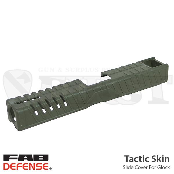 お正月sale tactic skin スライドカバー od リアルサイズ glock対応