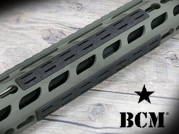 BCM ガンファイター Keymod(キーモッド)レイルパネルキット 5.5インチ 5枚入り BK