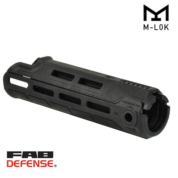 Vanguard AR M-LOK ポリマーハンドガード BK
