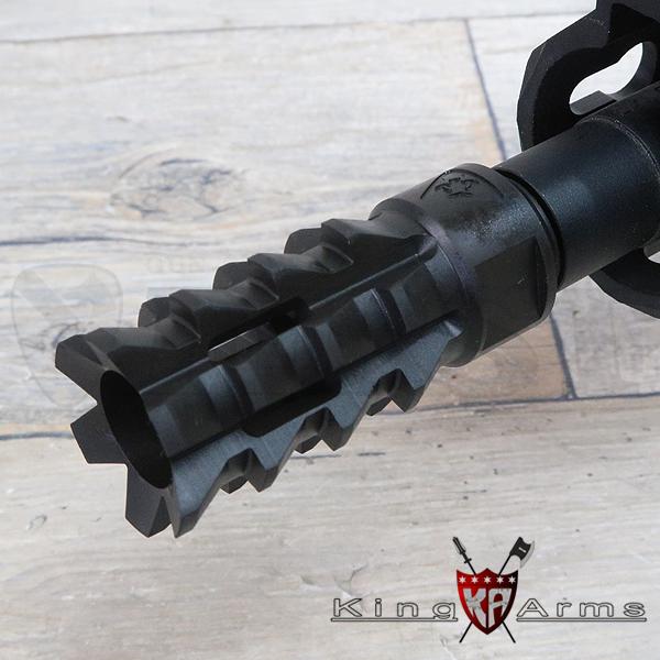BROタイプ ミルドフラッシュサプレッサー (14mm逆ネジ)