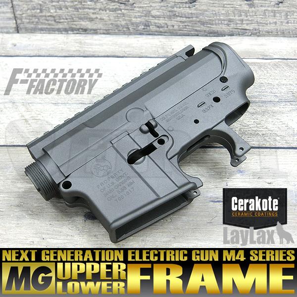 【限定】次世代 M4シリーズ用 MGアッパー+MGロアフレームセット セラコートVer.COLT/ステンレス
