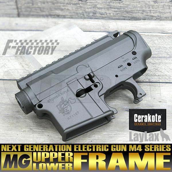 【限定】次世代 M4シリーズ用 MGアッパー+MGロアフレームセット セラコートVer. KNIGHT'S/ステンレス