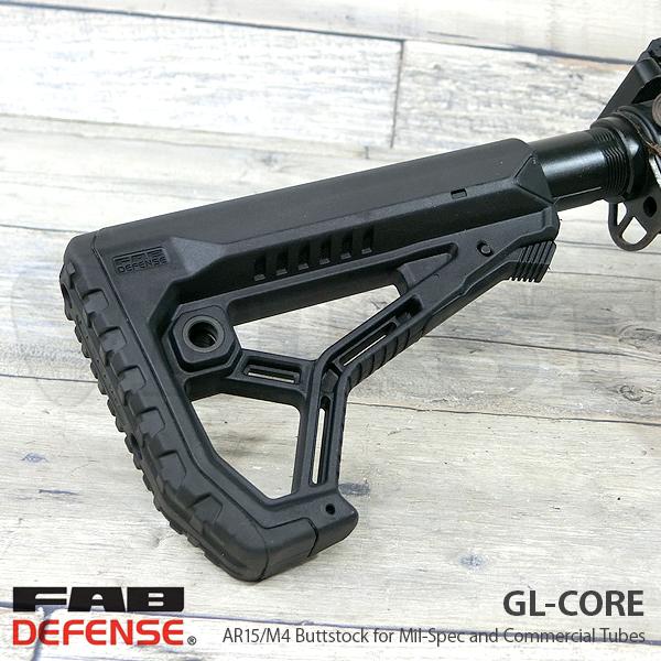 GL-CORE AR15/M4 バットストック BK