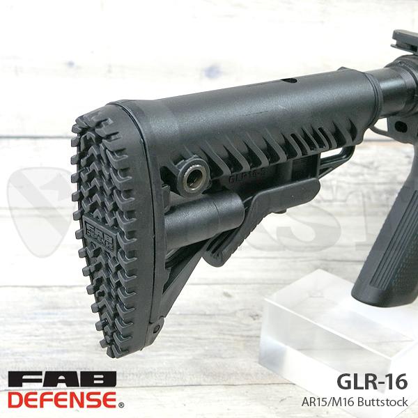 【ゲリラSALE】GLR-16 AR15/M16 バットストック BK