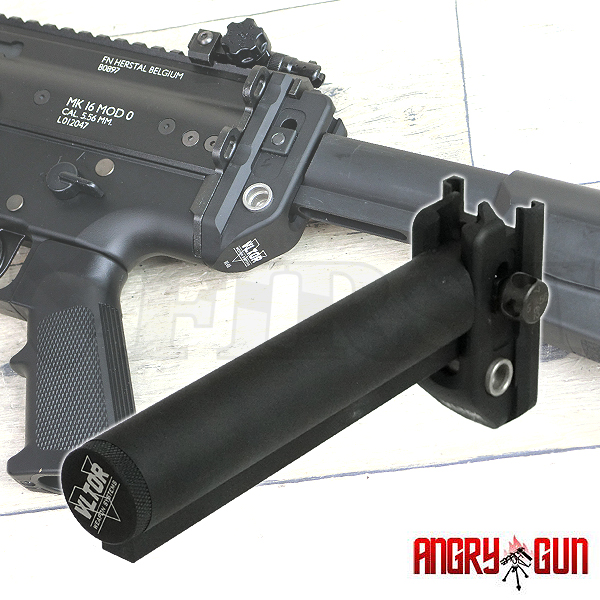 ANGRYGUN マルイ SCAR用 M4ストックアダプター VER2.1 配線付き