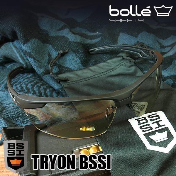TRYON(トライオン) BSSI マットブラック セーフティグラス CSP