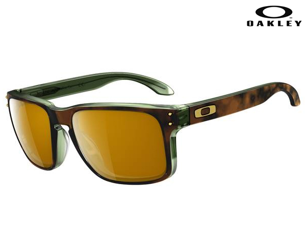 OO2038-03 Holbrook LX (Asian Fit) Tortoise / Green w / Dark Bronze