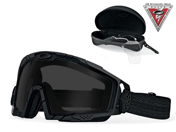 007035-03 SI Ballistic Goggle 2.0 Black Array Clr / Gry