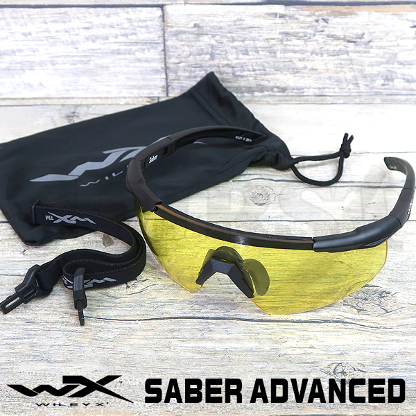 【WILEYX】SABER ADVANCED 300 イエローレンズ