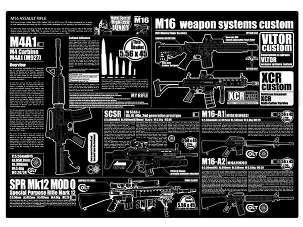 M16 マウスパット (A3サイズ)