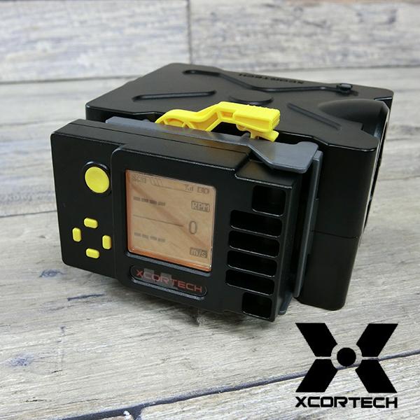 クロノグラフ X3500 サイクルカウンター付 弾速測定器