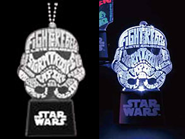 STAR WARS Flash Keychain STORMTROOPER(ストームトルーパー) ルービーズ版