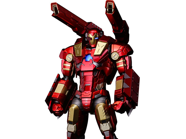 """RE:EDIT IRON MAN #11 MODULAR IRONMAN W/Plasma Cannon & Vibroblade """"subject to final licensor's approval"""" 千値練版"""
