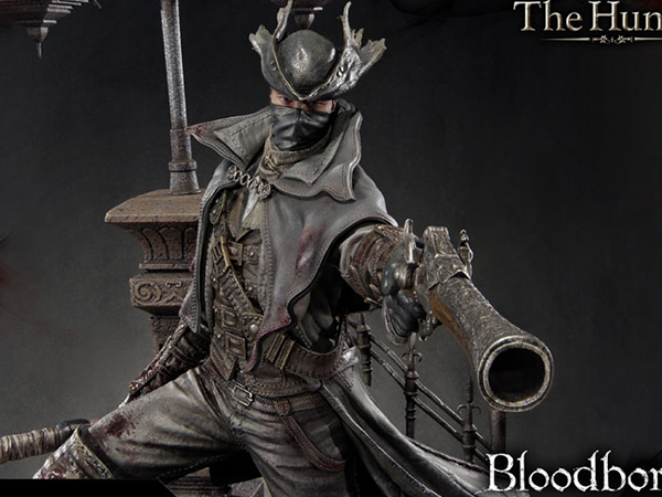 【予約】アルティメットプレミアムマスターライン/ Bloodborne ブラッドボーン: 狩人 ハンター 1/4 スタチュー プライム1スタジオ版 ※クレジット予約のみ
