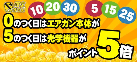 【onWEB限定】ポイント5倍DAY